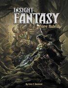 Insight Fantasy Core Rules
