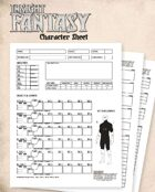 Insight Fantasy Character Sheet