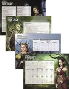 Insight Fantasy Game Master Screen Inserts