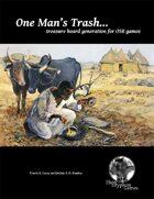 One Man's Trash: treasure hoard generation for OSR games