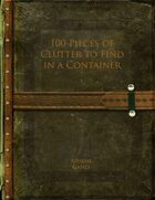 100 Pieces of Clutter to Find in a Container
