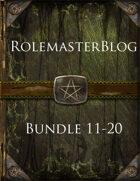 RolemasterBlog Bundle 11-20 [BUNDLE]