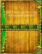 100 Encounters for a Fantasy Jungle