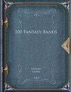 100 Fantasy Bands