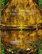 100 Encounters for Fantasy Plains (PFRPG)