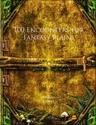 100 Encounters for Fantasy Plains