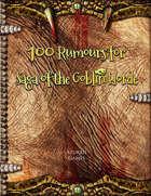 100 Rumours for Saga of the Goblin Horde