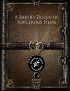 A Baker's Dozen of Sorcerous Items (ET)