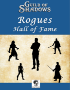 Rogues Hall of Fame (Savage Worlds)