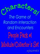 Characters! People Pack #1