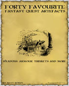 Forty Favourite: Fantasy Quest Artefacts