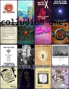 Colludium One: small press games [BUNDLE]
