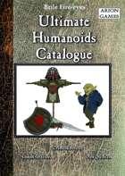 Ultimate Humanoids Catalogue