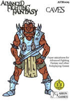 Advanced Fighting Fantasy Minis: caves