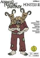Advanced Fighting Fantasy Minis: Monsters III
