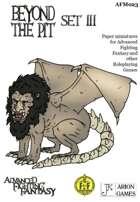 Advanced Fighting Fantasy Minis: Beyond the Pit Set III