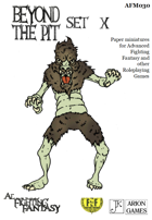 Advanced Fighting Fantasy Minis: Beyond the Pit Set X
