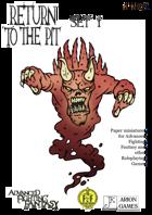 Advanced Fighting Fantasy Minis: Return to the Pit Set I