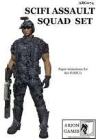 SciFi Assault Squad Set