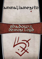 Shadow of the Demon Lord: Carte Magia AMMALIAMENTO