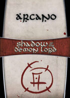 Shadow of the Demon Lord: Carte Magia ARCANO