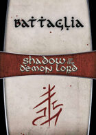 Shadow of the Demon Lord: Carte Magia BATTAGLIA