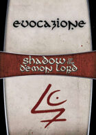 Shadow of the Demon Lord: Carte Magia EVOCAZIONE