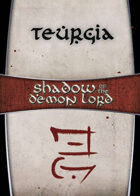 Shadow of the Demon Lord: Carte Magia TEURGIA