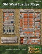 Old West Justice Map Set