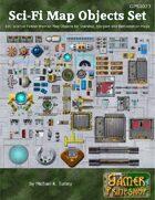 Sci-Fi Map Objects Set