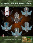 Crusader Class Close Escort Starship Deck Plans