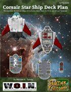 Thunderbird Corsair Star Ship Deck Plans (WOIN)