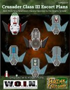 Crusader Close Escort Star Ship Deck Plans