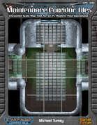 Maintenance Corridors Map Tile Set