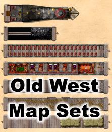 Old West Map Sets