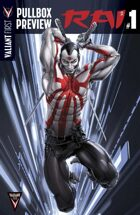 Valiant First Pullbox Preview: RAI #1