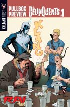 Valiant First Pullbox Preview: The Delinquents #1