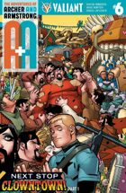 A&A: The Adventures of Archer & Armstrong #6