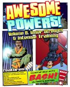 Awesome Powers Vol. 8 Inner Strength & Intense Training Powers