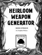 Heirloom Weapon Generator