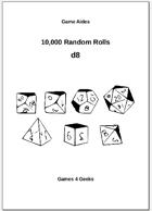 10,000 Random Rolls - d8