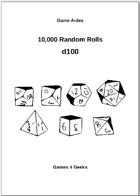 10,000 Random Rolls - d100