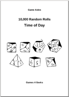10,000 Random Rolls - Time of Day