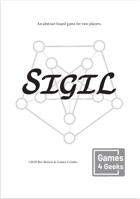 Sigil: An abstract game for two players.
