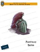 CSC Stock Art Presents: Fantasy Helm