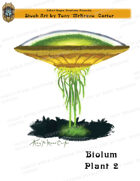 CSC Stock Art Presents: Bioluminescent Plant 2