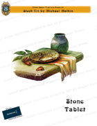CSC Stock Art Presents: Stone Tablet
