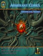Aberrant Codex: Aberrant Allies 5E