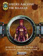 Species Archive: The Belaran PF1E