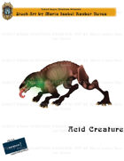 CSC Stock Art Presents: Acid Creature